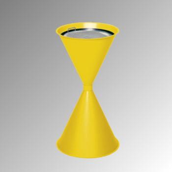 Standascher - 730 x 400 mm - Schale, Sieb - verkehrsgelb online kaufen - Verwendung 0