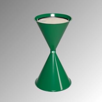 Standascher - 730 x 400 mm - Schale, Sieb - smaragdgrün