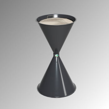 Standascher - 730 x 400 mm - Schale, Sieb - Graphitgrau online kaufen - Verwendung 0