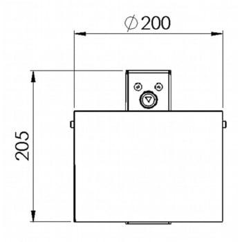 Rundascher - 4 l - Wand- o. Pfostenmontage - Aschenbecher - verzinkt online kaufen - Verwendung 4