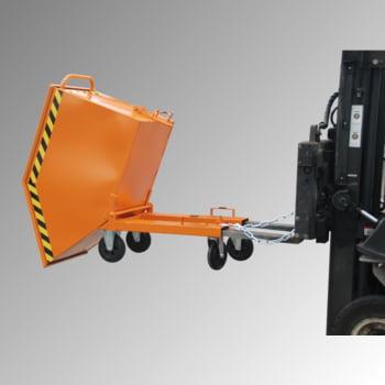 Schwerlast-Kipper - 4.000 kg - 2.100 l - automatische Entriegelung - orange online kaufen - Verwendung 2