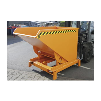 Schwerlast-Kipper - 4.000 kg - 2.100 l - automatische Entriegelung - orange online kaufen - Verwendung 3