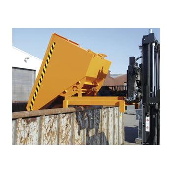 Schwerlast-Kipper - 4.000 kg - 2.100 l - automatische Entriegelung - orange online kaufen - Verwendung 5