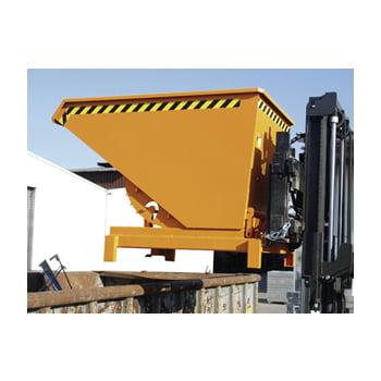 Schwerlast-Kipper - 4.000 kg - 2.100 l - automatische Entriegelung - grau online kaufen - Verwendung 4