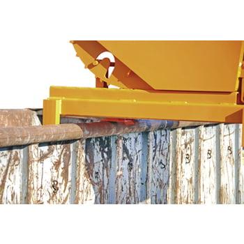Schwerlast-Kipper - 4.000 kg - 2.100 l - automatische Entriegelung - grau online kaufen - Verwendung 6