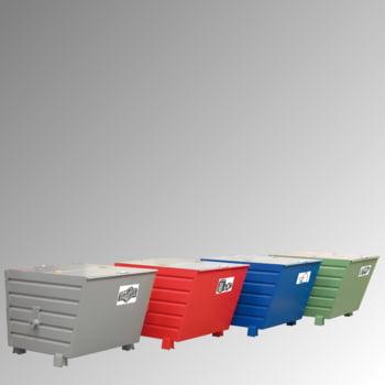 Stapelkipper 550 l - 1.000 kg - 1000x800x900 mm - 3-Fach stapelbar - grau online kaufen - Verwendung 2