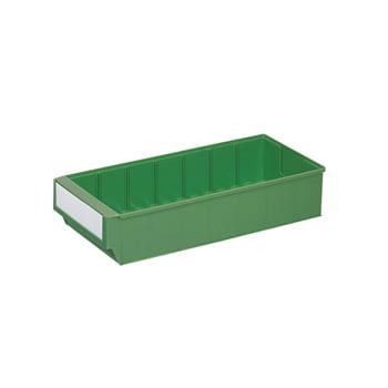Lagerbox - LxBxH 500x183x81mm - 15 Stück Lagerkasten Regalkasten - grün