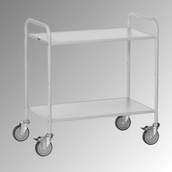 Fetra - Bürowagen - 150 kg - (BxT) 500 x 800 mm - 2 Etagen