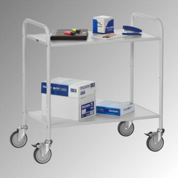 Fetra - Bürowagen - 150 kg - (BxT) 500 x 800 mm - 3 Etagen online kaufen - Verwendung 2