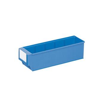 Lagerbox - LxBxH 400x91x81 mm - 30 Stück Lagerkasten Regalkasten - blau