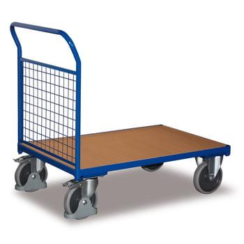 Stirnwandwagen - 0,5 t -(BxT) 600x1030 mm - Drahtgitterwände online kaufen - Verwendung 0