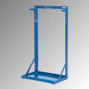 Fetra - Stahlflaschenständer m. Kettensicherung - für 2 Gasflaschen a 40-50 l