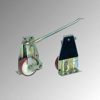 Fetra - Hubrollen - 2 Stück m. Hebelstange - 1 t/Paar