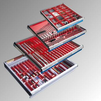 Lista Schubladenschrank - 78.110.010 - 850x564x572 mm (HxBxT) - 8 Schubladen - 75 kg - Code Lock - lichtblau (RAL 5012) online kaufen - Verwendung 8