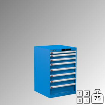 Lista Schubladenschrank - 78.110.010 - 850x564x572 mm (HxBxT) - 8 Schubladen - 75 kg - Code Lock - lichtblau (RAL 5012) online kaufen - Verwendung 0