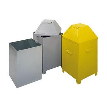 Abfallbehälter - 95 l Volumen - selbstlöschend - DIN 4102 - Mülleimer - silbergrau online kaufen - Verwendung 0