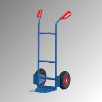 Fetra - Stahlrohrkarre - 200 kg - Schaufel 320 x 250 mm (BxT) - Luftbereifung