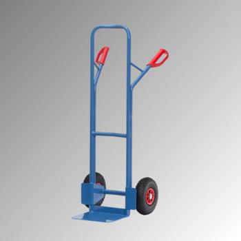Fetra - Stahlrohrkarre - 300 kg - Schaufel 320 x 250 mm (BxT) - Luftbereifung