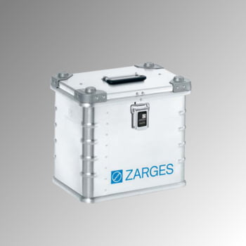 ZARGES Universalkiste K 470 - 27 l - Höhe 340 mm - Breite 400 mm - Tiefe 300 mm - Aluminiumkiste