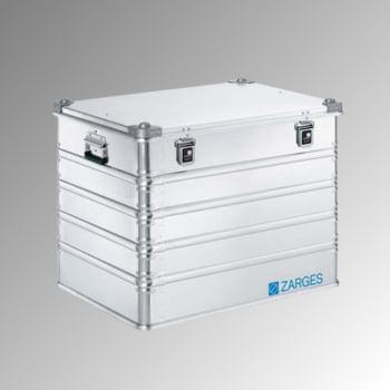 ZARGES Universalkiste K 470 - Volumen 239 l - Höhe 610 mm - Breite 800 mm - Tiefe 600 mm - Aluminiumkiste