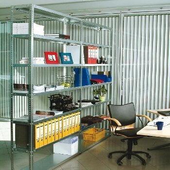 Fachbodenregal - 150 kg - (HxBxT) 2.500 x 870 x 400 mm - Schraubregal - Anbauregal online kaufen - Verwendung 2