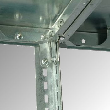 Fachbodenregal - 150 kg - (HxBxT) 2.500 x 870 x 400 mm - Schraubregal - Anbauregal online kaufen - Verwendung 4