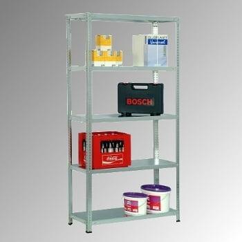 Fachbodenregal - 150 kg - (HxBxT) 2.500 x 870 x 400 mm - Schraubregal - Anbauregal online kaufen - Verwendung 6