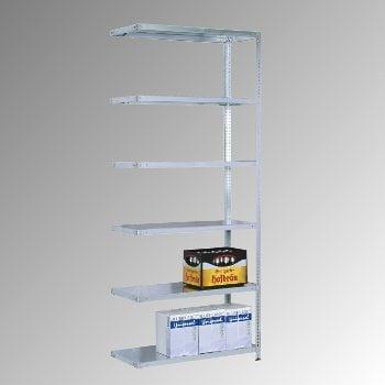 Fachbodenregal - 150 kg - (HxBxT) 2.500 x 870 x 400 mm - Schraubregal - Anbauregal online kaufen - Verwendung 0