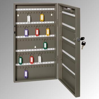 Schlüsselschrank für 68 Schlüssel - 390 x 300 x 60 mm (HxBxT) - anthrazit