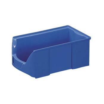 Sichtlagerkästen - PE - 145x210x360 mm - 12 Stück - Lebensmittelecht - Farbe blau