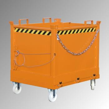 Klappbodenbehälter - 750 l Volumen - 1.000 kg - kranbar - resedagrün online kaufen - Verwendung 3